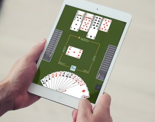 Playing online bridge is just as challenging and socially engaging as playing in person